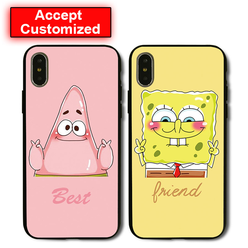 SpongeBob Best Friends Case Cover for iPhone 5 5S SE 6 6S ... Iphone 5 6 7 8 9