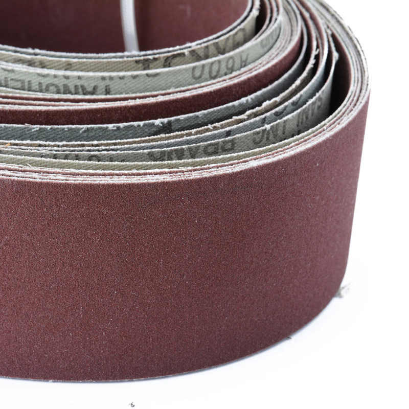 Sandpaper Sanding Belt Abrasive Band Sander Durable Aluminum Oxide 40-120 Grit~# Fashionable Style; In