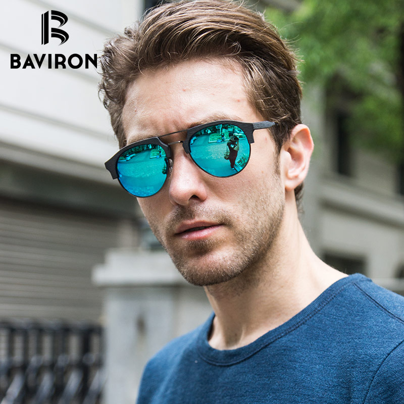 5f5bd54c898 Detail Feedback Questions about BAVIRON Similar Wooden Sunglasses Unisex  Retro Trend Sun Glasses Acetate Anti UV400 Polarized Sunglasses Fashion  Eyewear ...
