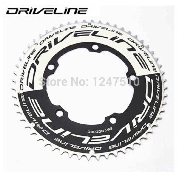 DRIVELINE chainring 130 BCD Time Trial road bike TT aero style 53 55 56 58T gear