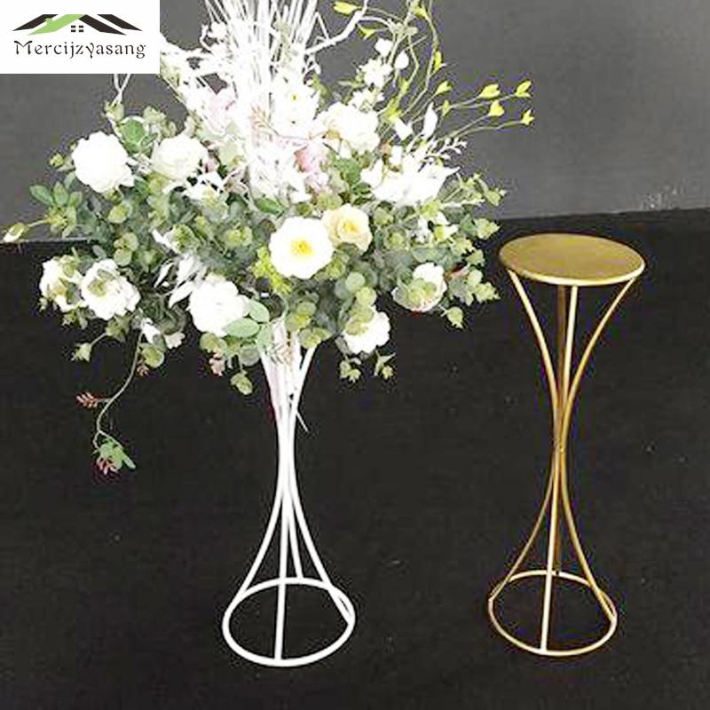 4 Teile/los Blume Vasen Boden Metall Vase Pflanze Getrocknet Floral Halter Blumentopf Straße Führen Für Home/hochzeit Korridor Dekoration G142