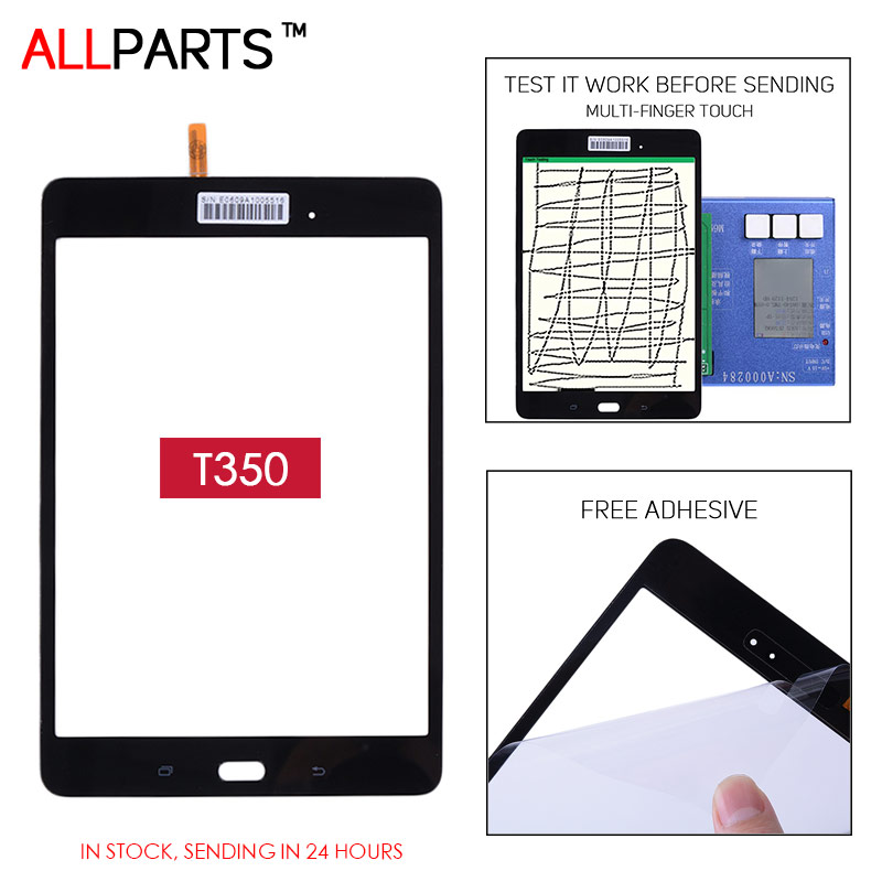 TESTED 8.0 inch Touch screen For SAMSUNG Galaxy Tab A 8.0 SM-T355 T355 Touch Screen Digitizer Galaxi T350 T351 SM-T350 SM-T351