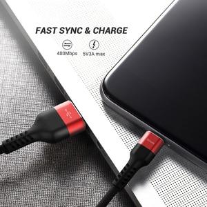 QGeeM Micro USB кабель 2.4A нейлон Быстрая зарядка USB кабель для передачи данных для Samsung Xiaomi LG планшет Android мобильный телефон USB кабель для зарядки