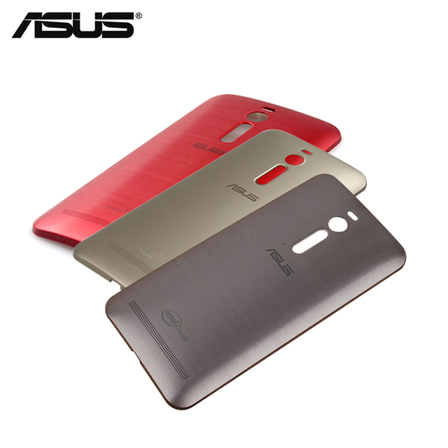 the best attitude f2dbf c833a US $3.99  100% Original Asus Zenfone 2 Phone Case ZE551ML ZE550ML Back  Cover Case Rear Battery Cover Replacement with Power Button NFC-in  Half-wrapped ...