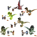 Clearance Sale Jurassic World Dinosaur Jurassic Park Movie Building Blocks Bricks Toys Figure Kids Gift For Children