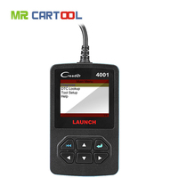 Hot Sale Launch DIY CReader CR4001 OBDII/EOBD Auto Diagnostic Scan Tool Code Reader Update Online Fast Shipping