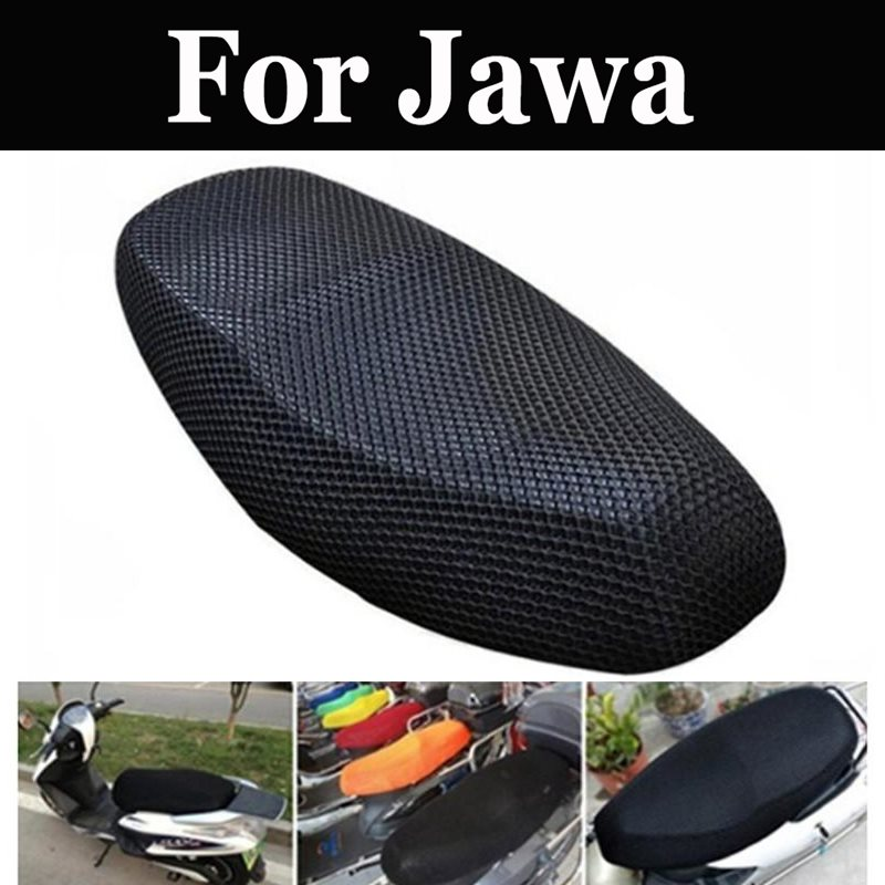 51x86 Motorcycle Sunscreen Seat Cover Breathable Sun-Proof Motorbike Scooter Seat Covers For Jawa 420 Prototype 500r 638 640 550