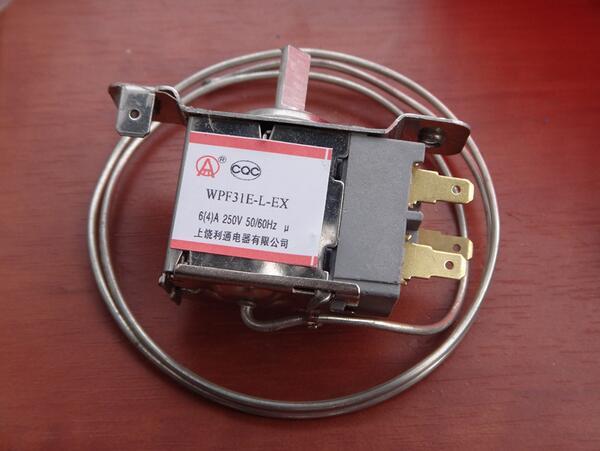 Acheter WPF31E L EX Réfrigérateur Réfrigération Thermostat w 65 cm Métal Cordon AC 250 V 6 (4) Un 50/60Hz de refrigerator thermostat fiable fournisseurs