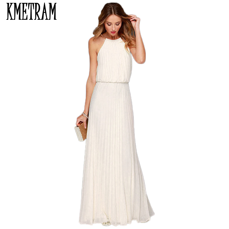 Cheap White Maxi Dress