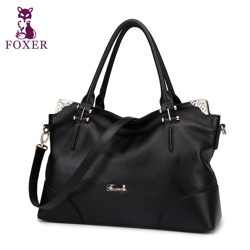 FOXER 2018 fashion shoulder bags women leather handbag designer tote ladies messenger bag brand vintage wristlet Genuine Leather for lenovo vibe z2 pro k920 lcd display with touch screen digitizer assembly