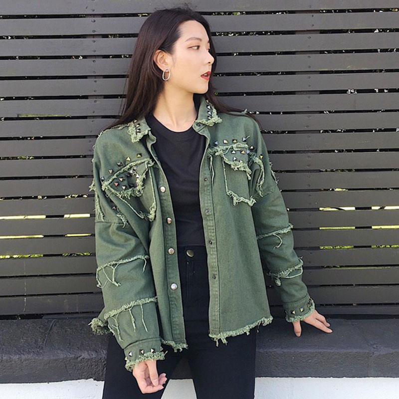 db4b84cb4a best top 10 woman denim coats korean style brands and get free ...