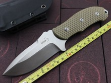 2015 new D2 steel outdoor camping knife, knife hand diving knife