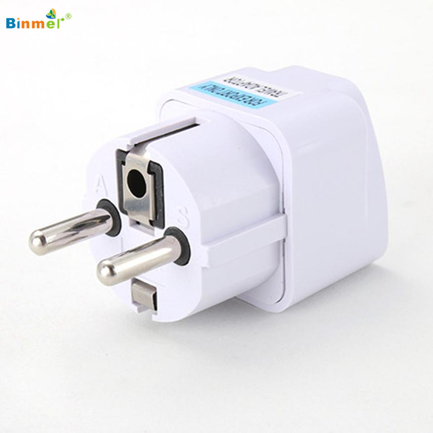 New Arrival 2016 Best Price Universal UK US AU To EU AC Power Socket Plug Travel Charger Adapter Converter Jun30