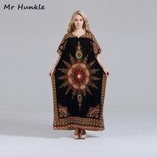 Бренд mr hunkle Новинка Дашики платье Мода Африканский Принт Свободные Макси летние платья Африканский dashiki Платья для Для женщин