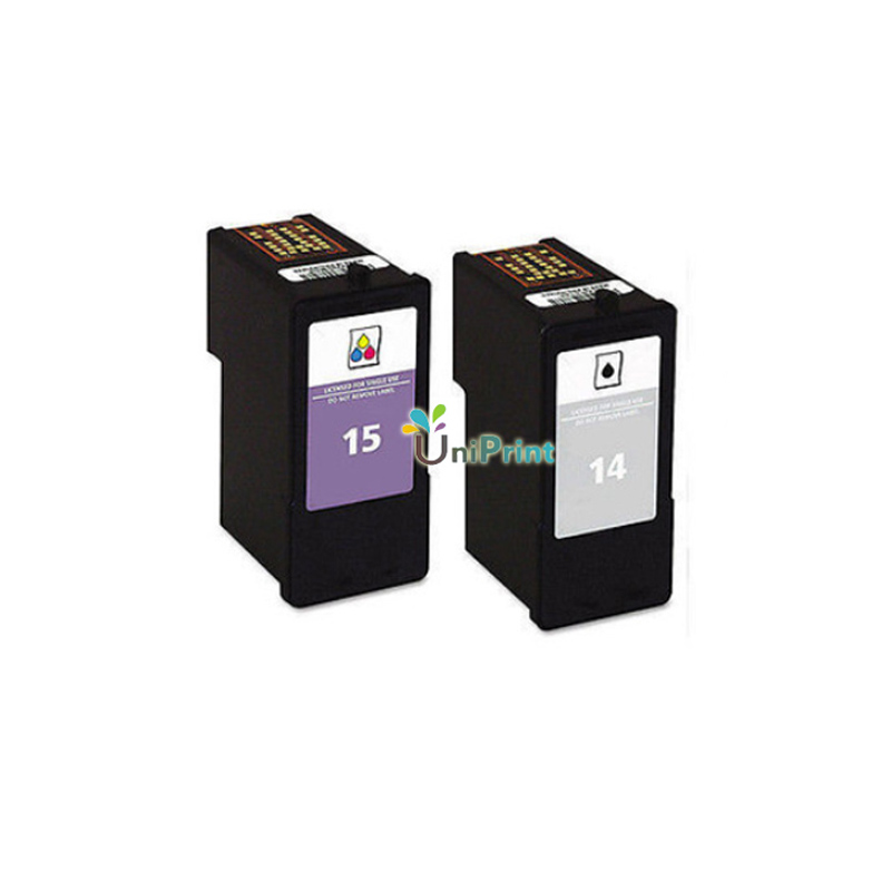 UP Ink Cartridge For Lexmark 14 15 Black Color Cartridges Z2300 Z2320 X2650 X2600 X2670 Printer In From Computer Office