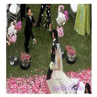 100PCS Cherry Blossom Flower Petal Leave Wedding Party Table Confetti Decoration
