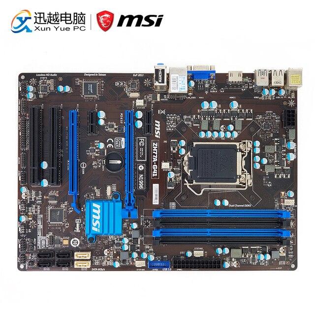 MSI ZH77A-G41 Network Genie Drivers Mac