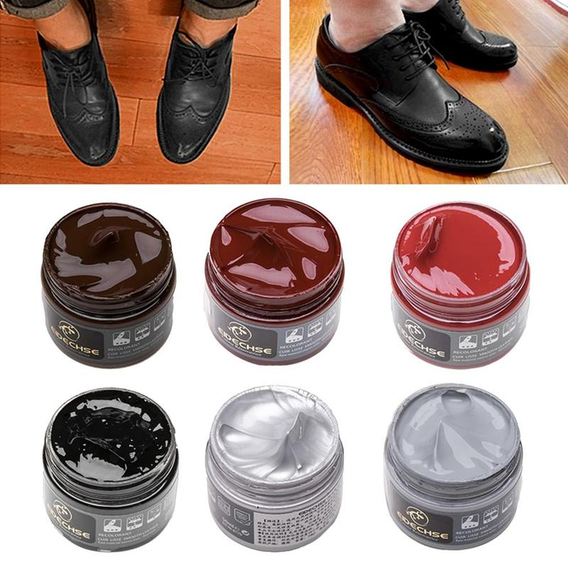 30ml Oyster Cream Yellow Wolf Cream Leather Goods Leather Shoes Care Cream Shoe Polish