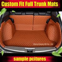 For Hyundai ix25 Creta Cargo Liner car trunk mat carpet interior Floor Mats leather pad car styling products accessory 2015 17