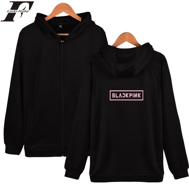 BlackPink Zipper Hoodie