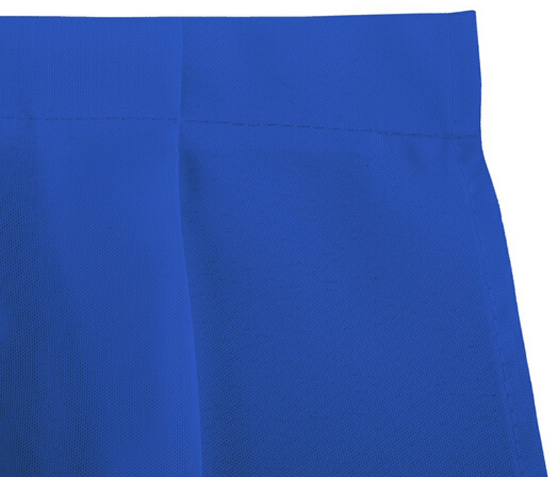 HK DHL Accordion Pleat Polyester Rectangular 500cm Table Skirt ROYAL BLUE for Wedding Ceremony, 5/Pack