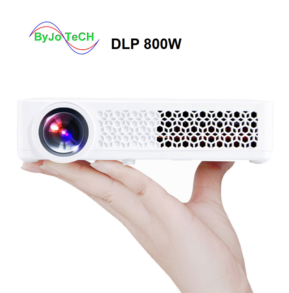 Poner Saund DLP-800W DLP projector WIFI Android Projector Home Theater Projector DLP 800W proyector beamer 3D projector Vs z4 poner saund dlp600w mini portable projector full hd smart android lcd mini 3d wifi best home theater proyector dlp projektor