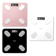 Digital Smart Body Fat Weight Scale LCD Health Fitness BMI Muscle Bathroom