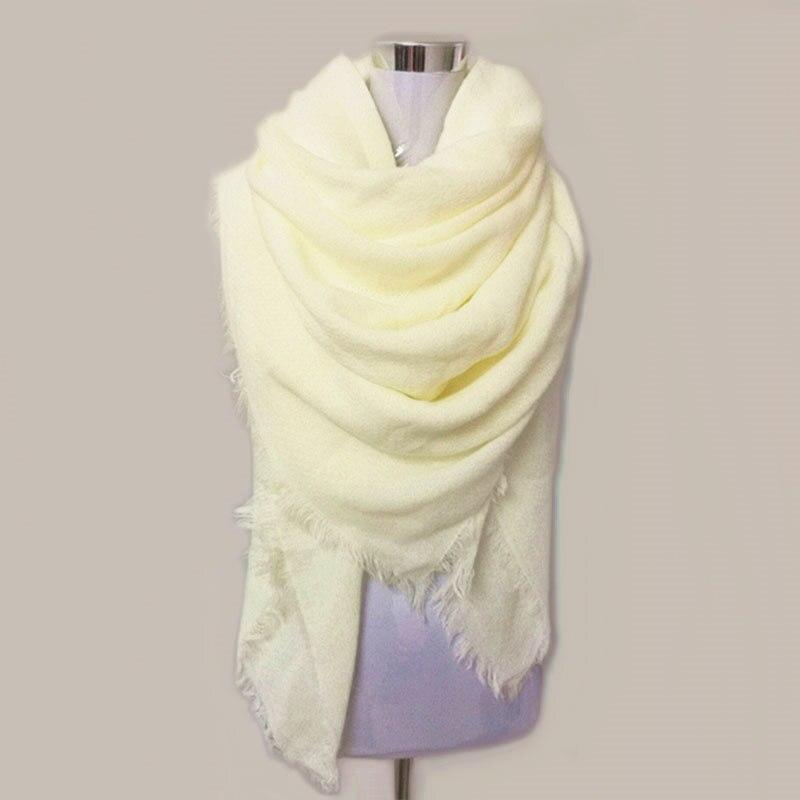 ea1d0f0e683 Bufanda sólida Za mujeres bufandas mujer 2018 negro moda caliente mujeres  bufandas invierno bufanda abrigo chal