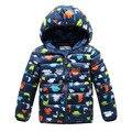 Детские девушки парни одежда бабочка хлопка мягкой детские зимние куртки хлопка и пиджаки куртка детская одежда девушки зимние пальто