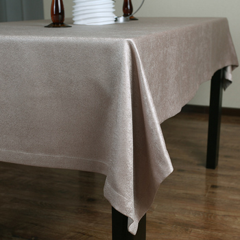 A European luxury cloth tablecloths tablecloth 024 upscale snow Tierney jacquard tablecloths coffee table Buka its color