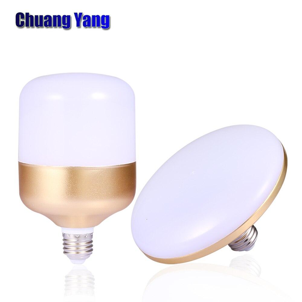 Led Lamps Bombilla Led E27 15W 20W 30W 40W 50W 60W Lampada LED 220V 230V 240V Spotlights UFO B22/E27 Led Bulbs For Home Lighting