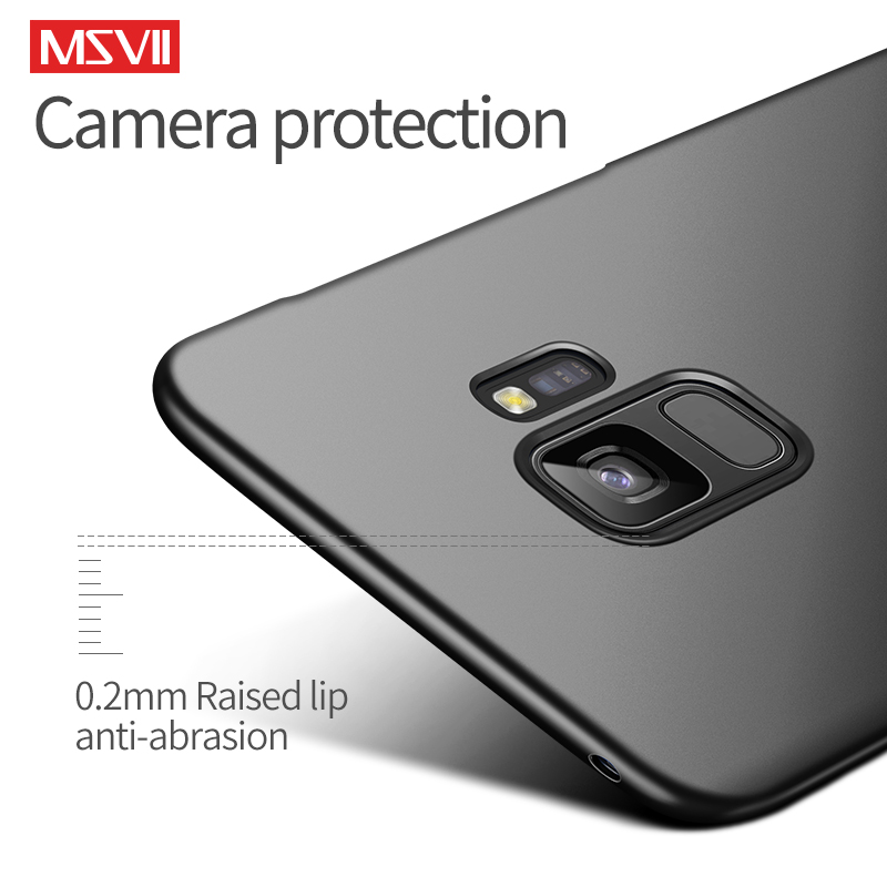 Cases For Samsung S10 S9 S8 Plus MSVII Hard PC Ultra Slim Matte Case For Samsung Cases For Samsung S10 S9 S8 Plus MSVII Hard PC Ultra Slim Matte Case For Samsung Galaxy Note 10 9 8 S10e S9 S8 S7 S6 Edge Covers