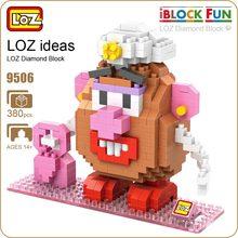 LOZ Diamond Blocks Brick Funny Plastic Action Figure Movie Mini DIY Micro Bricks Plastic Assembly Toys