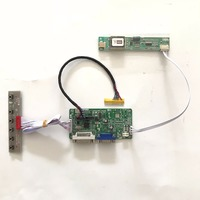 RT2281 Universal DVI VGA LCD Controller Board For 16 Inch 1366x768 LTN160AT01 CCFL LVDS Monitor Kit