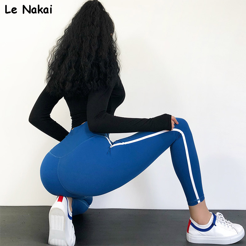 High Waisted Red Moto Fitness Yoga Pants for Women Big Booty Gym Leggings Sports Running Workout Pants Compression Sport Tights