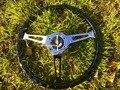 Универсальный Высококачественный 380 мм 15 дюймов 38 см Деревянный черный руль гоночный автомобиль рулевое колесо три гоночных Phoebe