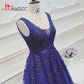 Square Neckline Banquet Dreamlik Evening Prom Dress 2017 Alibaba Shop Wholesale Royal Blue Backless Appliques Pearls Long Gowns