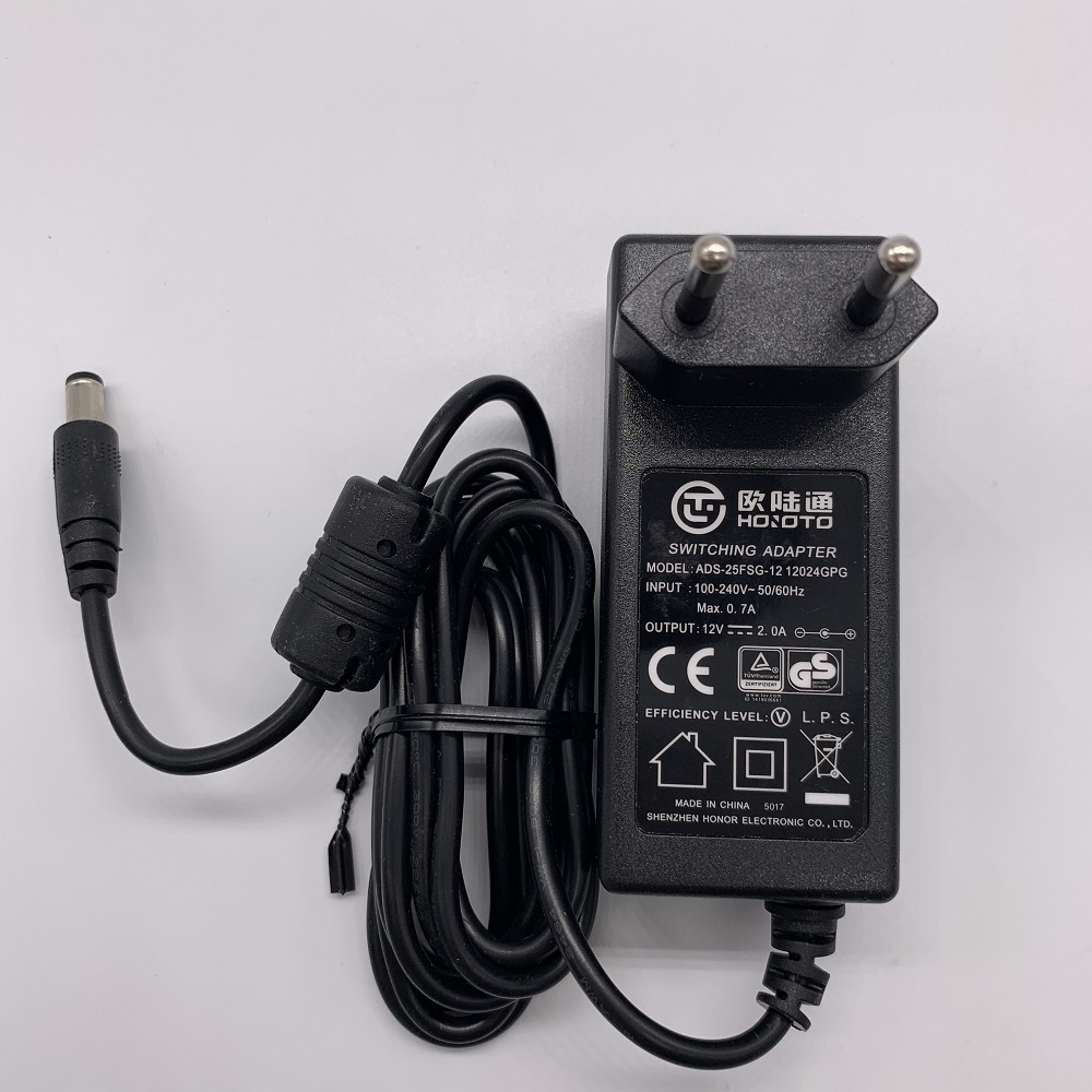 DC 12V 2A  Power adapter 1.5m line ADS-25FSG-12  12024GPGDC 12V 2A  Power adapter 1.5m line ADS-25FSG-12  12024GPG