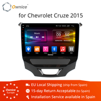 Ownice K1 K2 android 8.1 Octa core car DVD multimedia for CHEVROLET CRUZE 2015 BT car stereo head units 32G ROM 4G LTE