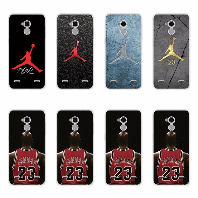 Luxury TPU Cases For ZTE Blade A910 A 910 BA910 BA910t 55 Inch NBA Player Jor