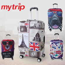 1pcs Travel Luggage Suitcase Protective Cover for Trunk Case Apply to 19''-32'' Suitcase Cover Thick Elastic Perfectly