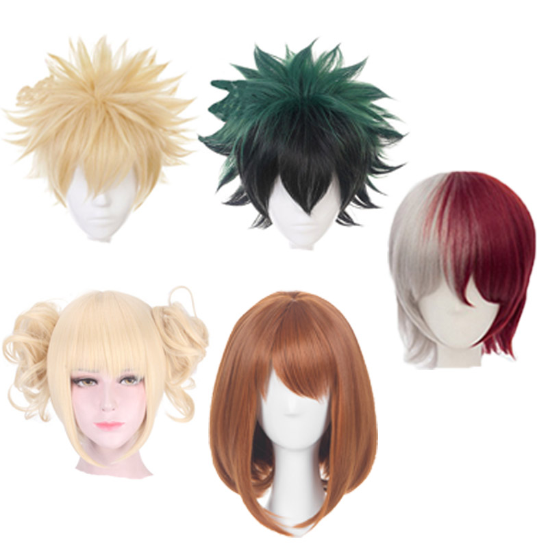 Japanese Anime Accessories My Hero Academia Cosplay Wig Headpiece Decorative Props