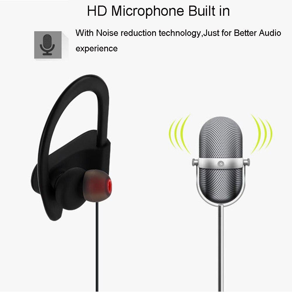 Bluetooth Eearphone Sports Running Wireless Headset Auricular