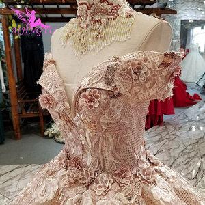 Image 4 - AIJINGYU suknie ślubne sklep internetowy kup suknie ślubne 2021 2020 sklep muzułmanin matka suknia ślubna biała sukienka balowa