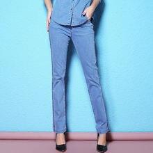 2018 весна и осень облегающие джинсы карандаша тонкие женские
