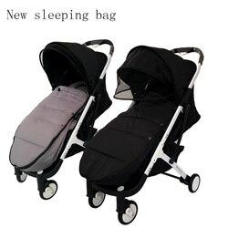 Saco de dormir para cochecito de bebé previene el viento frío y mantiene el pie caliente cubierta para cochecito y accesorios para cochecito Yoyaplus
