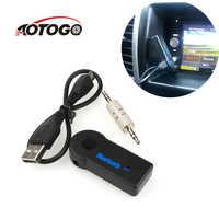 fm transmitter Bluetooth Aux Mini Audio Receiver fm transmitter Bluetooth car 3.5mm Jack Handsfree Auto Bluetooth Car Kit