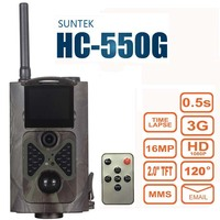 Suntek HC550G Hunting Trail Camera 3G HD 16MP 1080P Video Night Vision MMS GPRS Scouting Infrared Game Hunter Cam