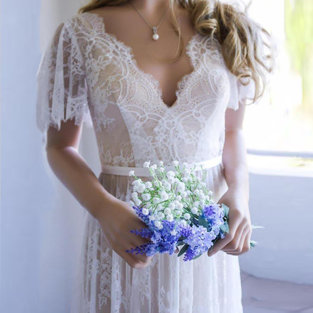 vinatge-lace-wedding-dress-a-line-v-neck1