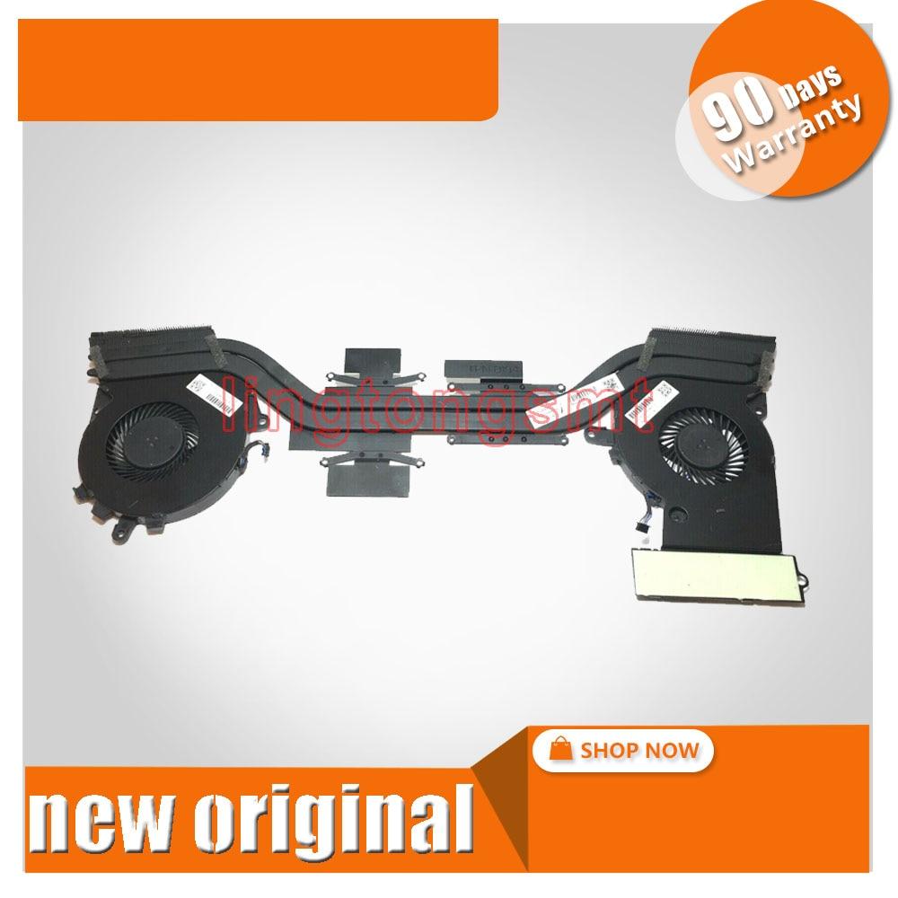 Free shipping original laptop CPU heatsink fan for HP OMEN 15 15 5113TX 5114TX 5014TX 501T6TX cooling fan 788600 001